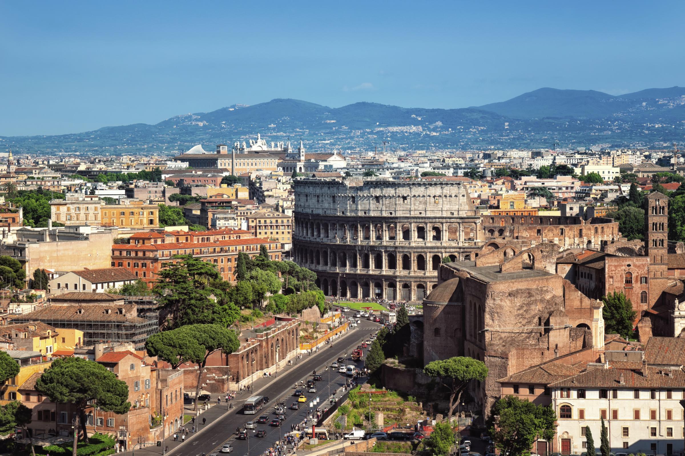 Alquiler de coches Roma